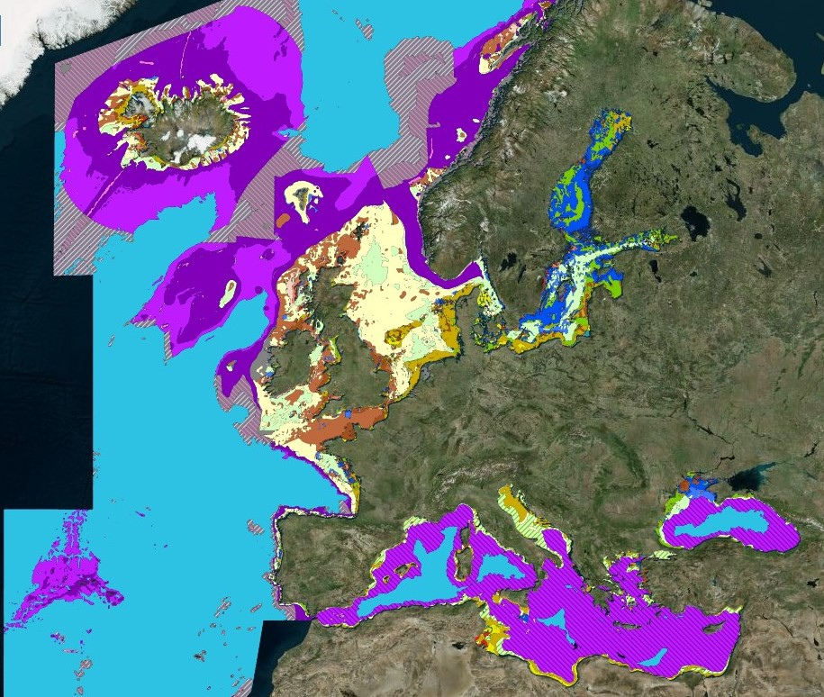 EMODnet Seabed Habitats Map Viewer